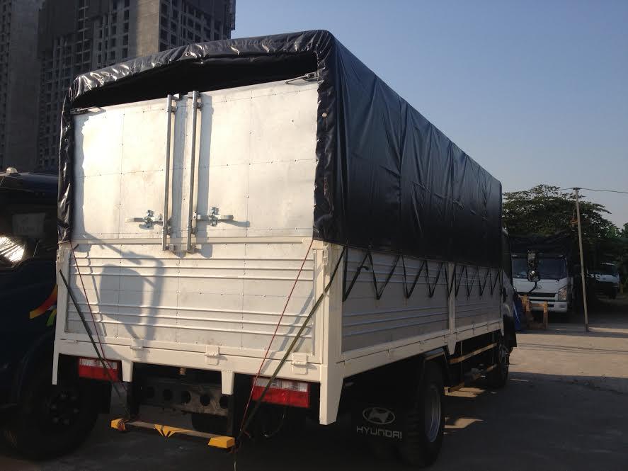 Faw 6,95 tấn, thùng dài 5,1M, cabin Isuzu