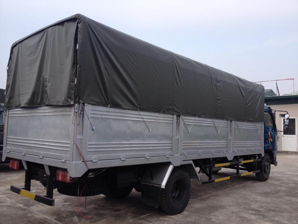 Hyundai VT750,tải trọng 7,36 tấn,thùng dài 6M,động cơ Hyundai 130PS