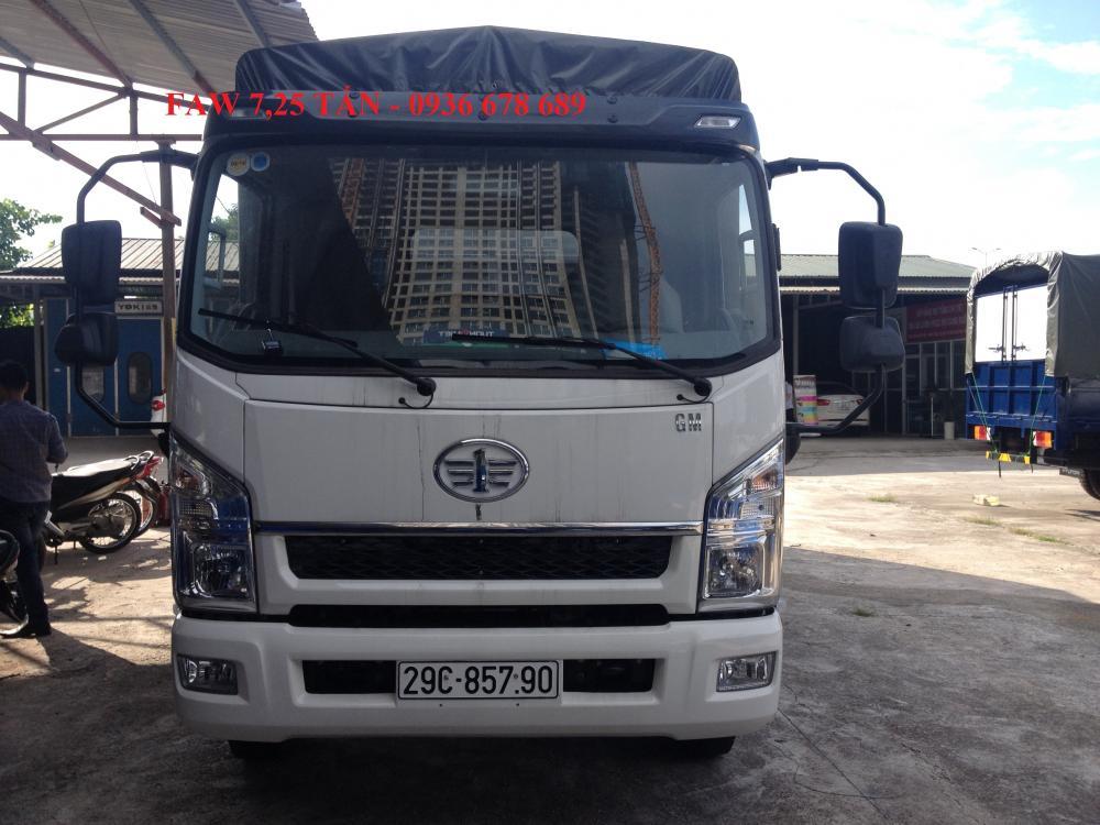 Xe tải GM Faw 7,25 tấn, thùng dài 6.3M, động cơ YC4E140. Giá tốt liên hệ 0936 678 689