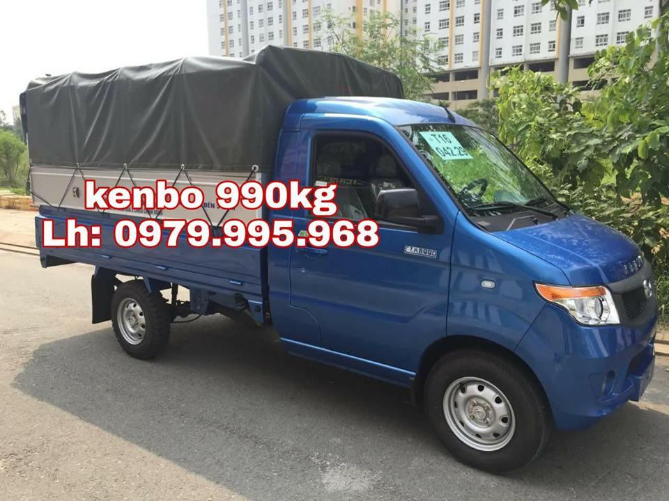 Bán xe tải nhẹ Kenbo 990kg, điều hòa, trợ lực, khóa điện, giá rẻ nhất