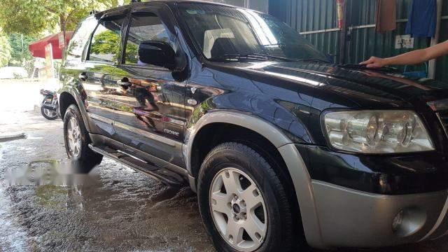 Bán Ford Escape đời 2004, màu đen, giá tốt