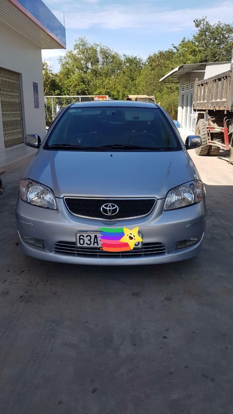 Cần bán xe Toyota Vios G đời cuối 2003, xe gia đình còn rất mới