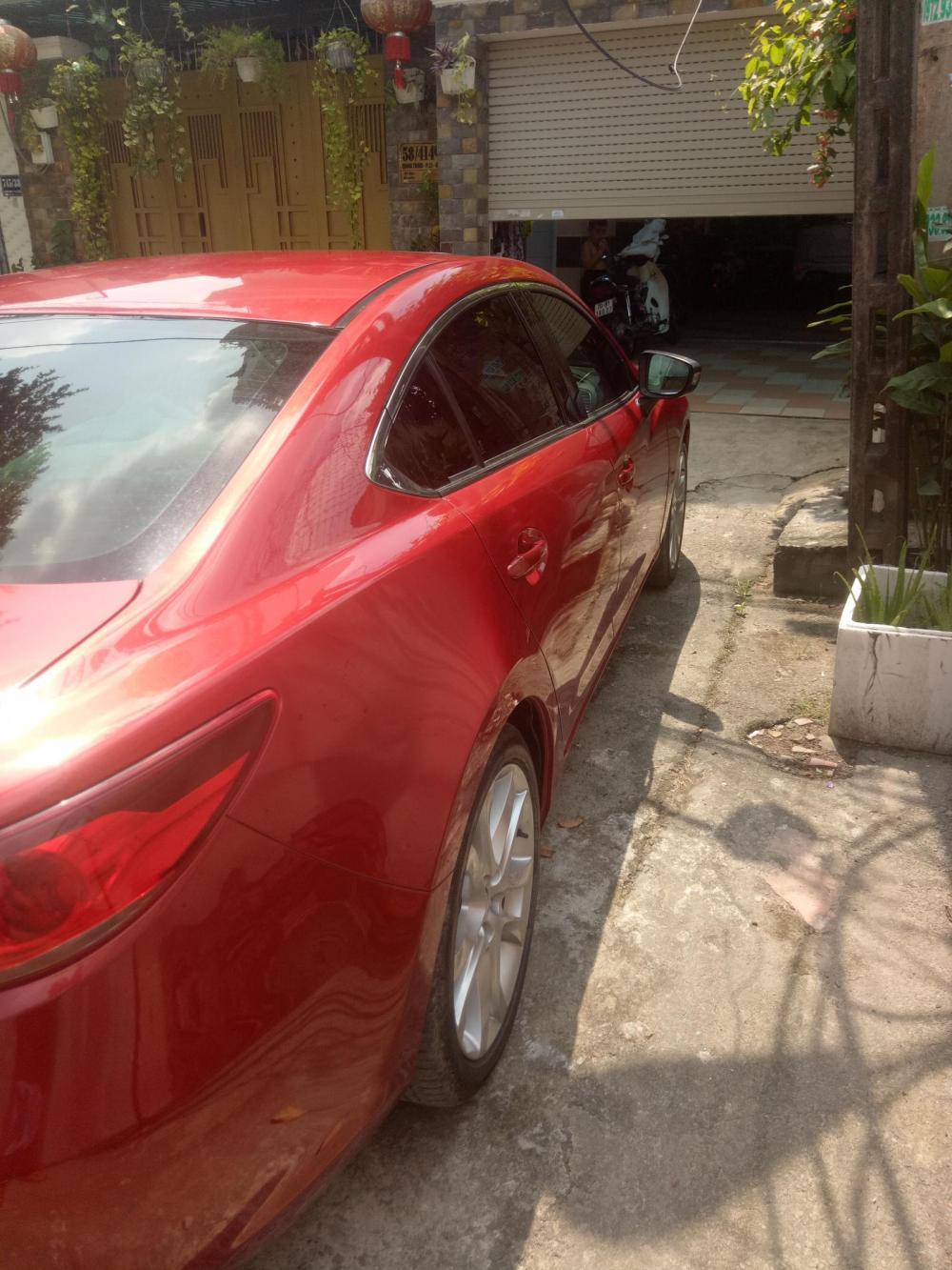 Bán xe Mazda 6 G đời 2015, màu đỏ
