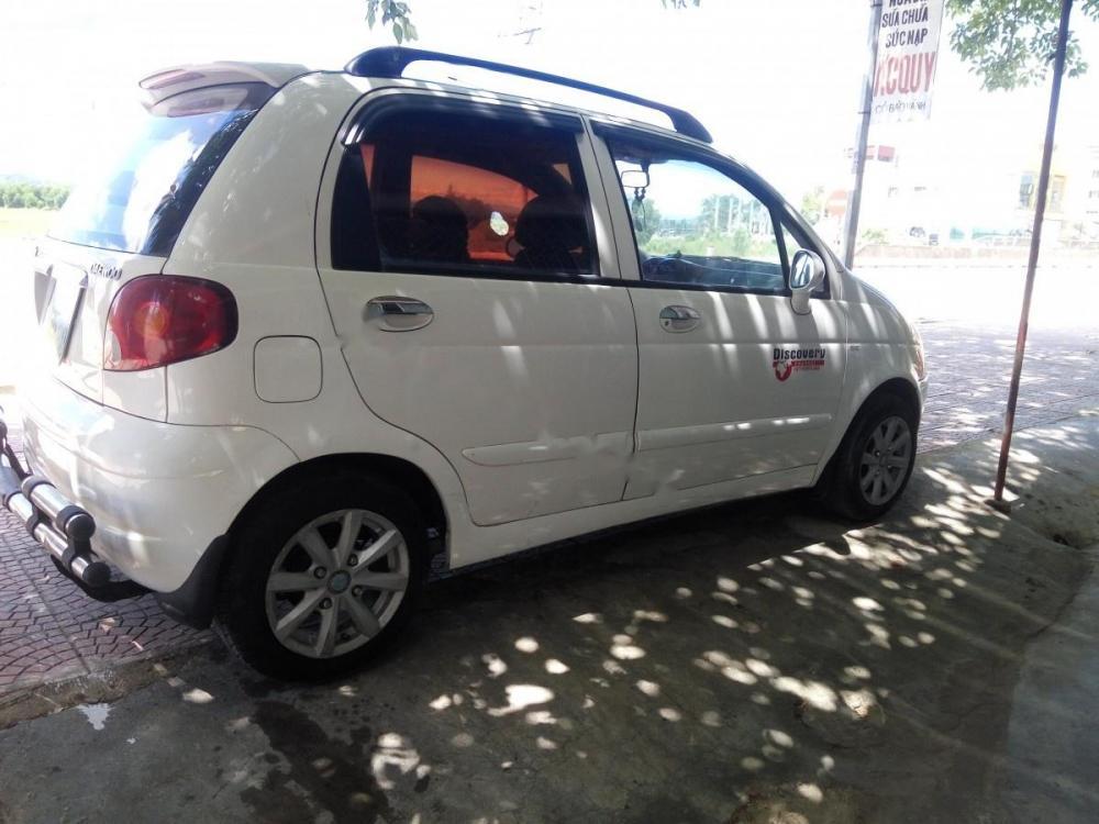Bán xe Daewoo Matiz SE 0.8 MT sản xuất năm 2007, màu trắng
