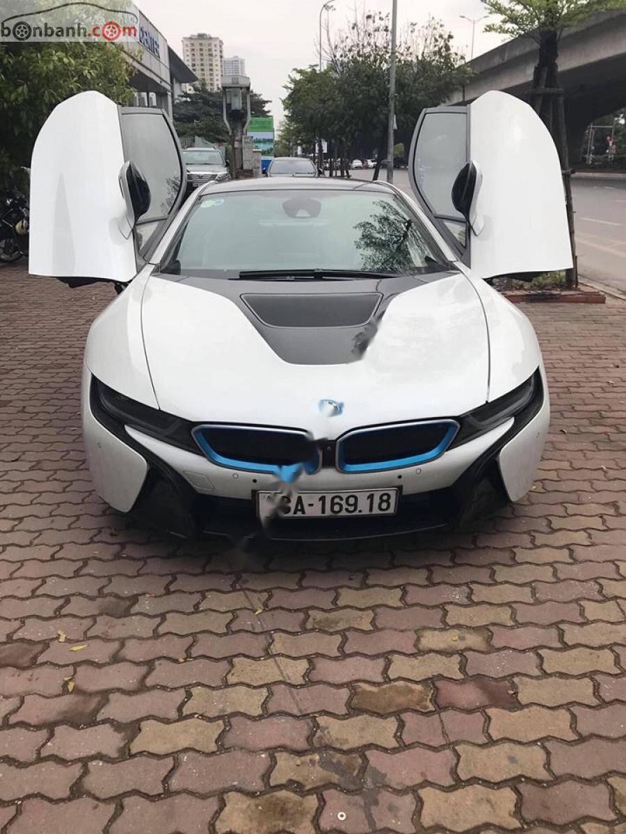 Bán BMW i8 1.5L Hybrid đời 2014, màu trắng, xe nhập số tự động