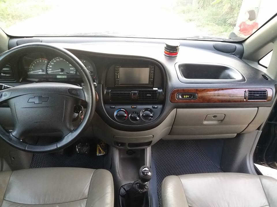 Bán xe Chevrolet Vivant sản xuất 2009, màu đen, giá 217tr