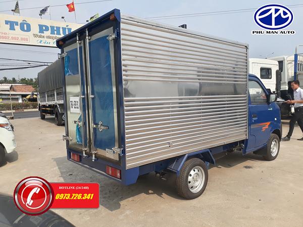 Bán xe tải Dongben 770kg động cơ công nghệ Mỹ