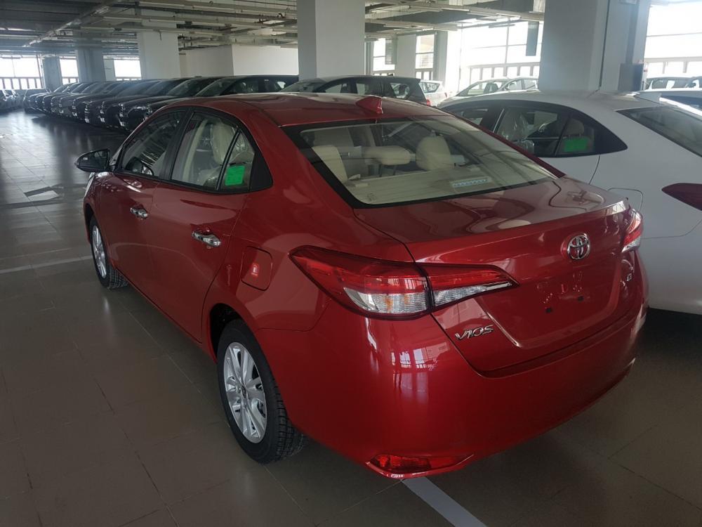 Toyota Vios E đời 2019, giảm tiền mặt, tặng full option