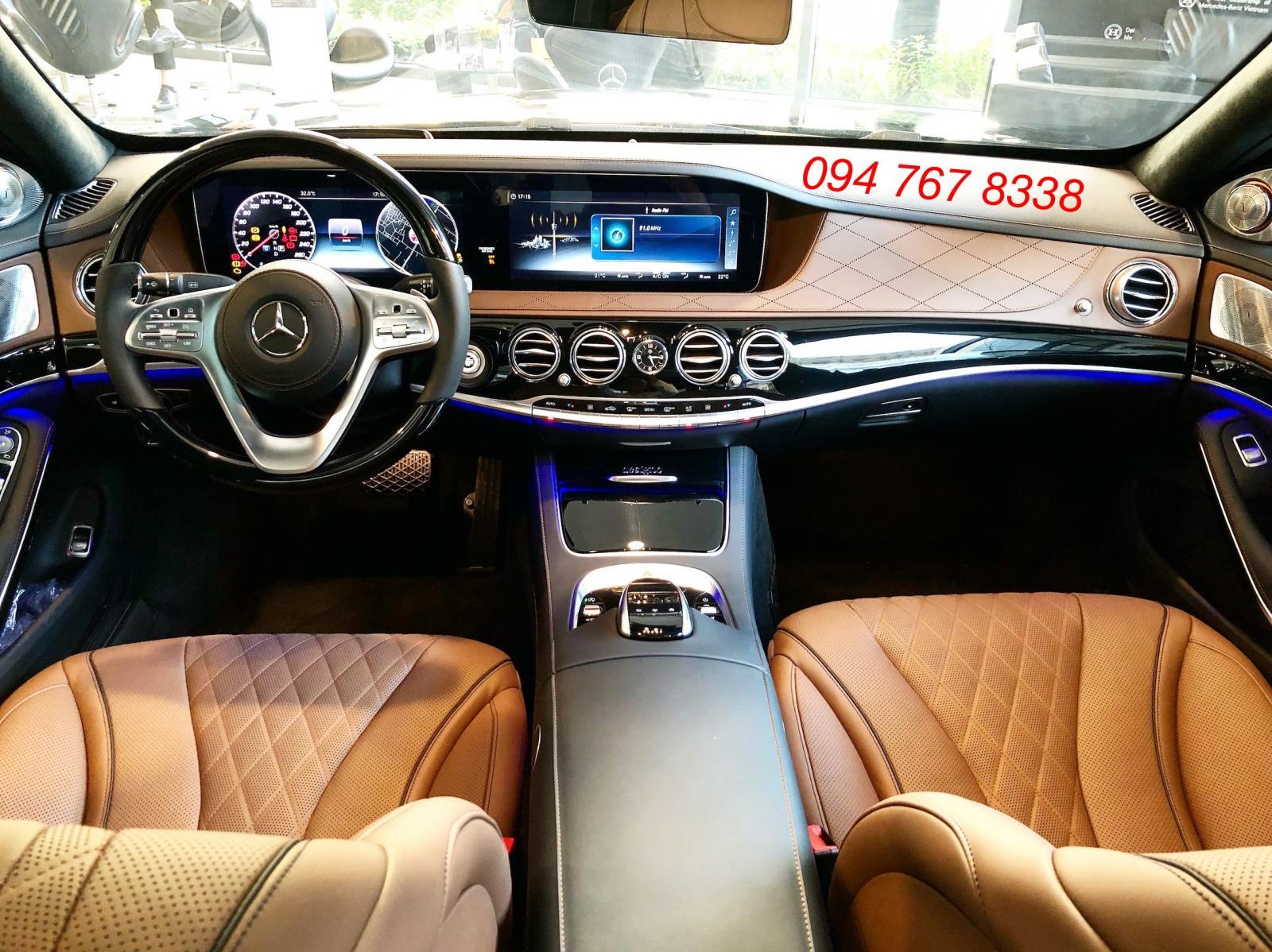 Bán xe Mercedes S450 Luxury sản xuất 2019, màu đen