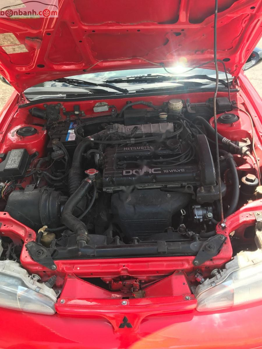 Bán Mitsubishi Eclipse đời 1992, màu đỏ, xe nhập chính chủ, giá 320tr