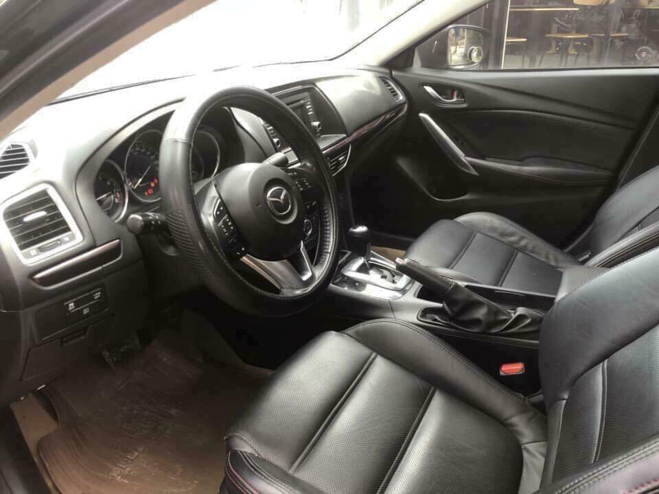 Cần bán xe Mazda 6 sx 2014 số tự động, màu đen