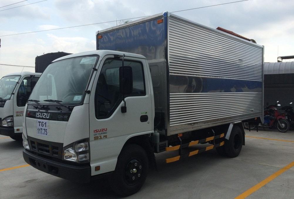 Bán xe Isuzu QKR QKR 77H E4 đời 2019, màu trắng, xe nhập