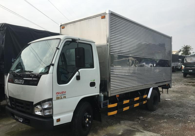 Bán xe Isuzu NMR 85HE4 năm 2019, màu trắng, nhập khẩu chính hãng, giá 638tr