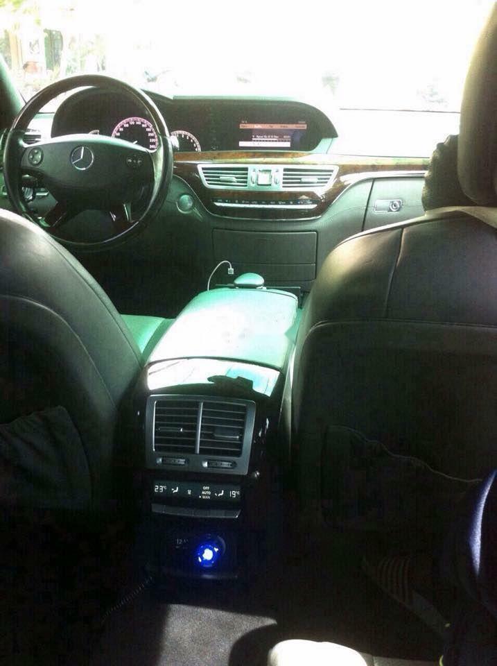 Bán Mercedes S500 sản xuất 2005, màu xanh