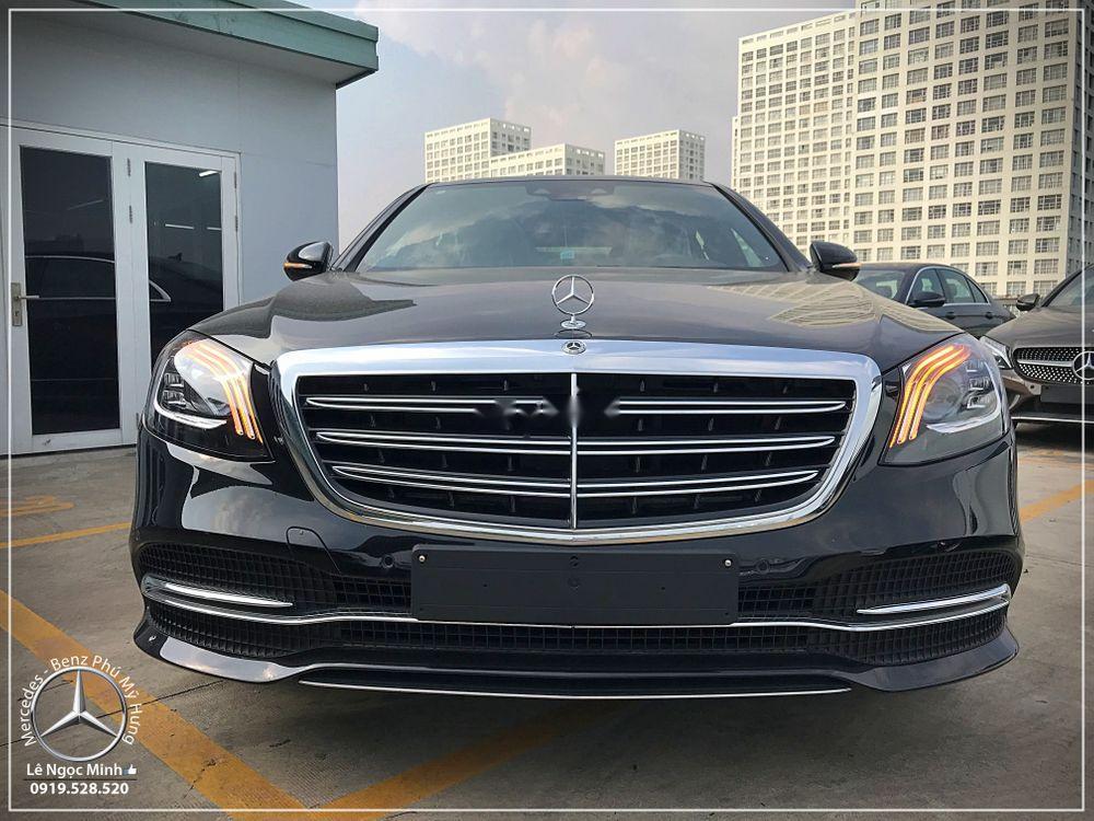 Cần bán xe Mercedes S450 năm 2018, màu đen, nhập khẩu