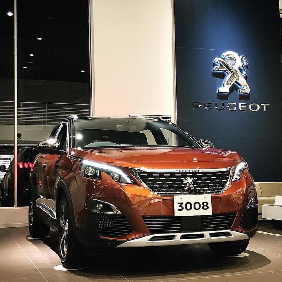Cần bán Peugeot 3008 đời 2019, màu nâu