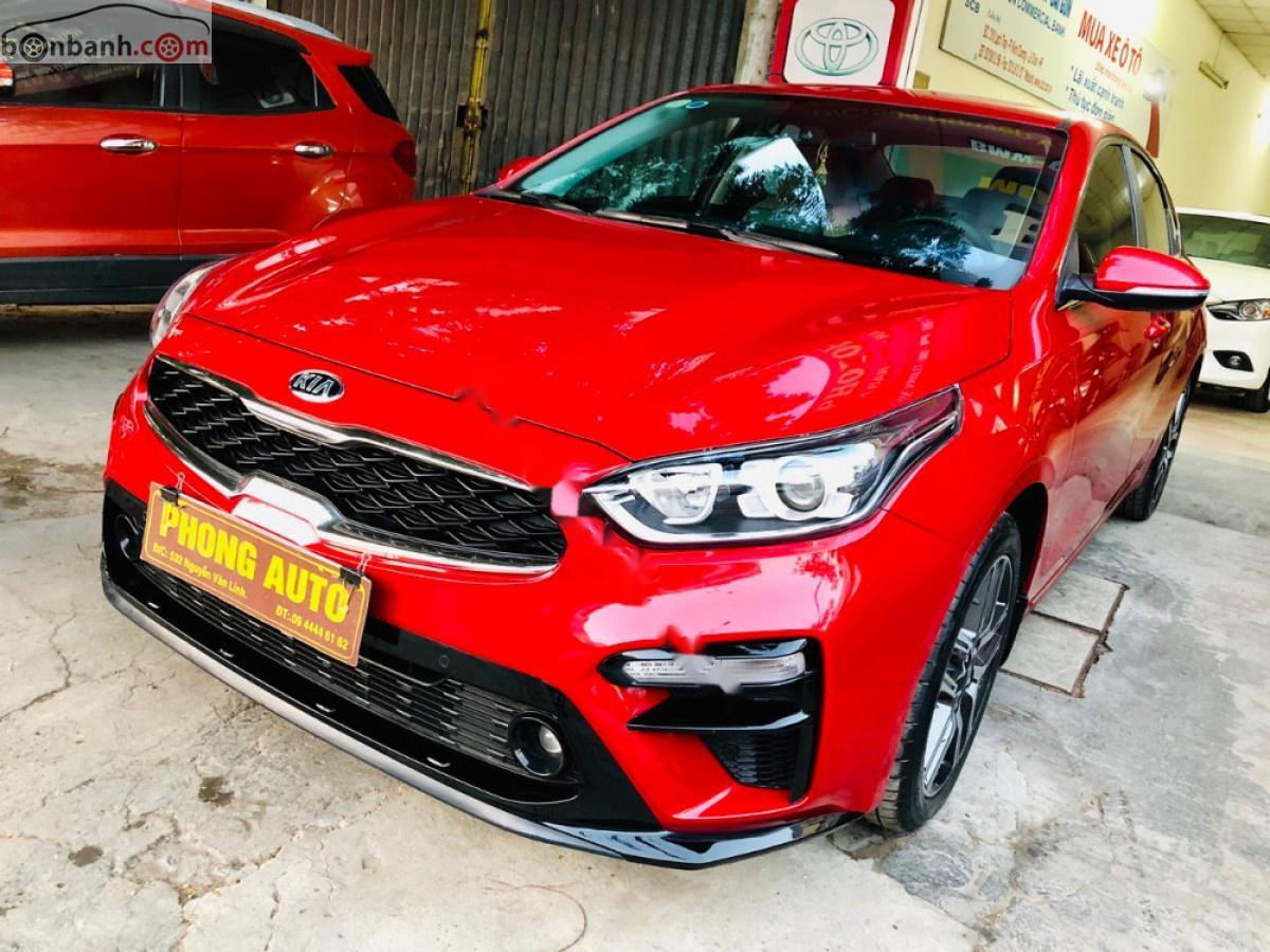 Bán Kia Cerato sản xuất 2019, màu đỏ, xe như mới
