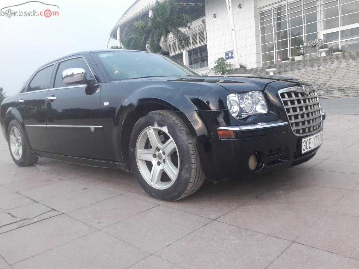 Bán Chrysler 300C năm sản xuất 2008, màu đen, nhập khẩu