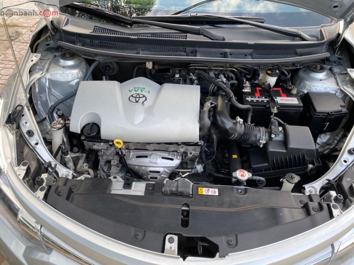 Bán Toyota Vios E đời 2016, màu bạc, số tự động