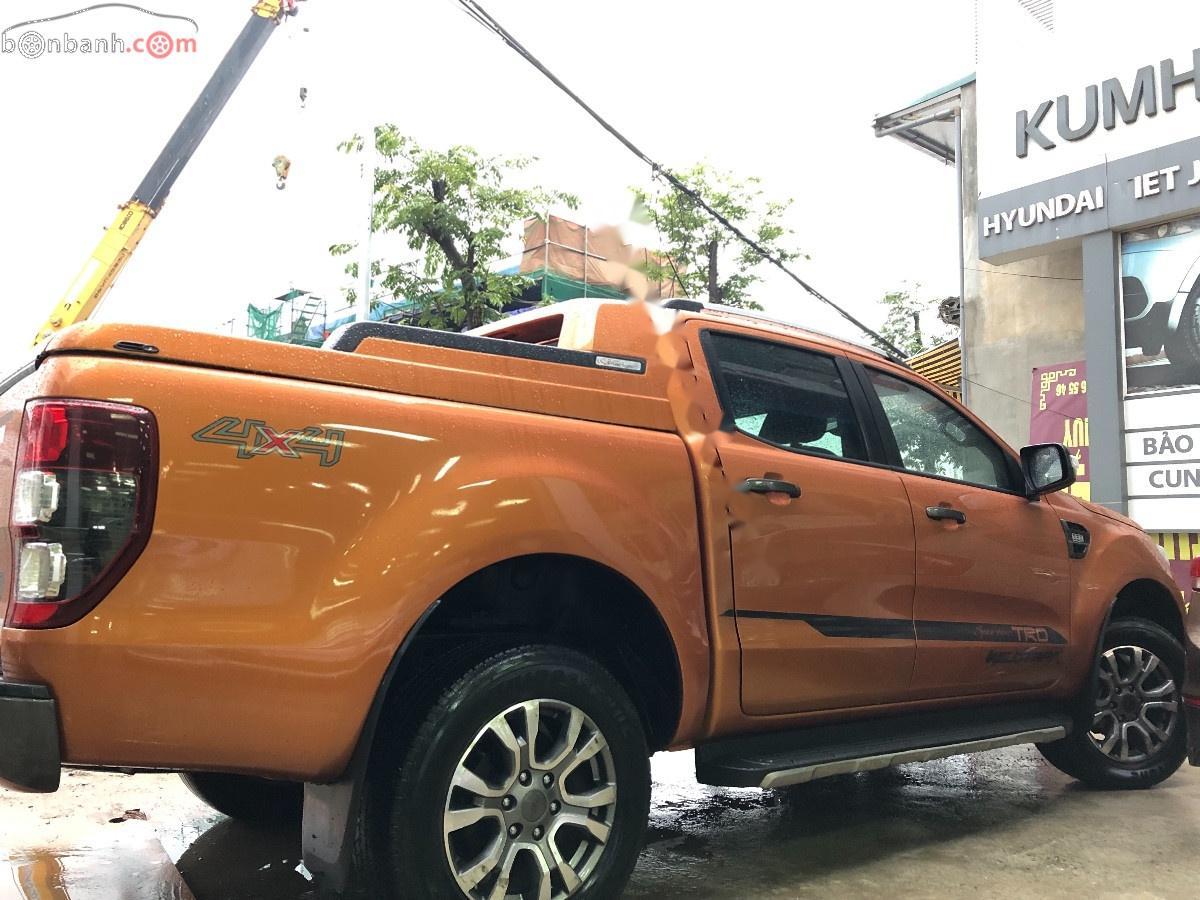 Bán Ford Ranger 3.2 Wildtrak 2015, màu vàng, xe nhập chính chủ giá cạnh tranh