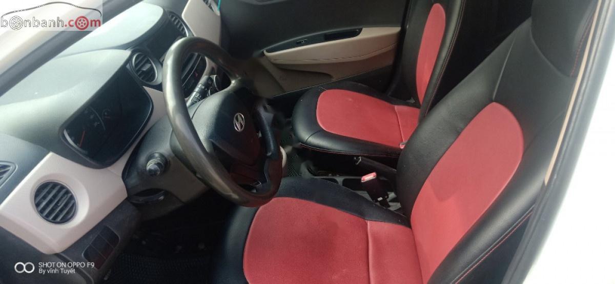 Cần bán Hyundai Grand i10 sản xuất 2014, màu trắng, nhập khẩu nguyên chiếc chính hãng