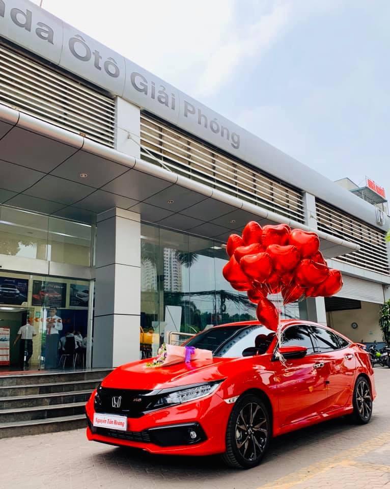 Honda Giải Phóng - Honda Civic RS 2021 khuyến mại tiền mặt  và phụ kiện