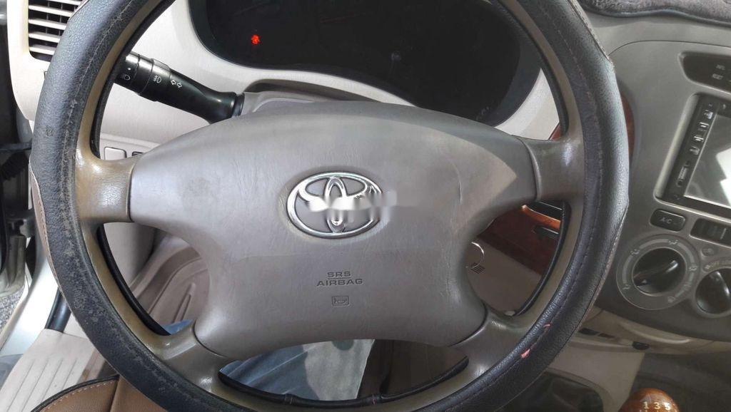 Bán Toyota Innova G đời 2008, màu bạc, xe gia đình giá cạnh tranh