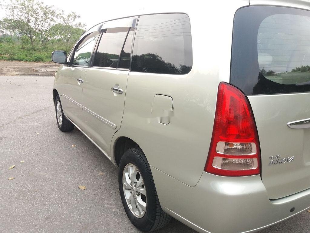 Bán Toyota Innova năm 2008, màu bạc