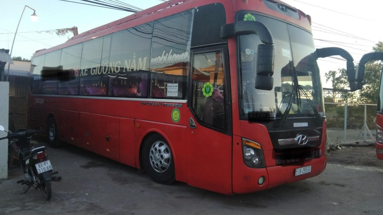 Bán xe Huyndai Noble 44 giường sx 2011