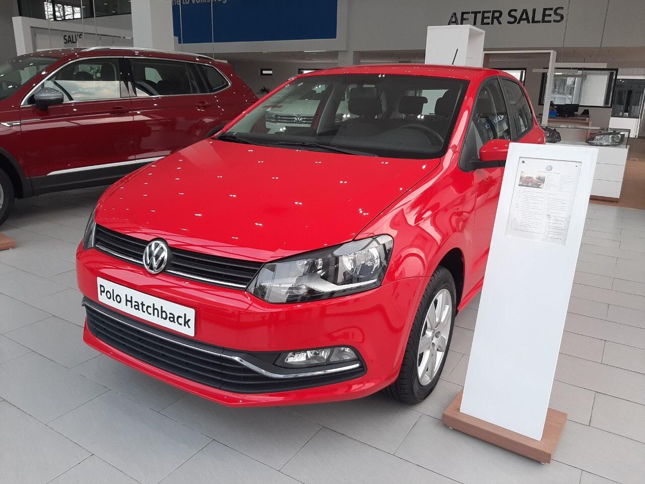 Volkswagen Polo, màu đỏ, nhập khẩu chính hãng tặng lệ phí trước bạ, hỗ trợ trả góp 0%