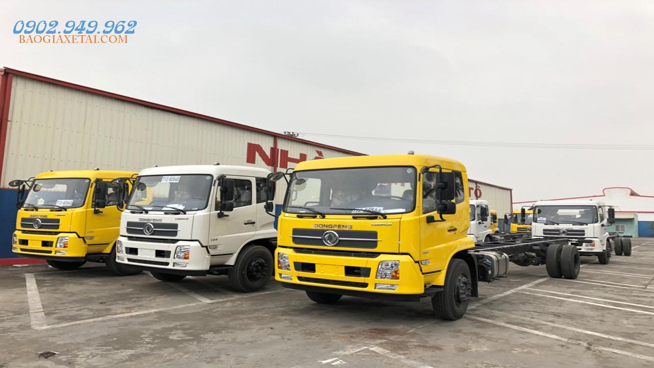 Bán xe tải 5 tấn - dưới 10 tấn đời 2019, màu vàng, xe nhập