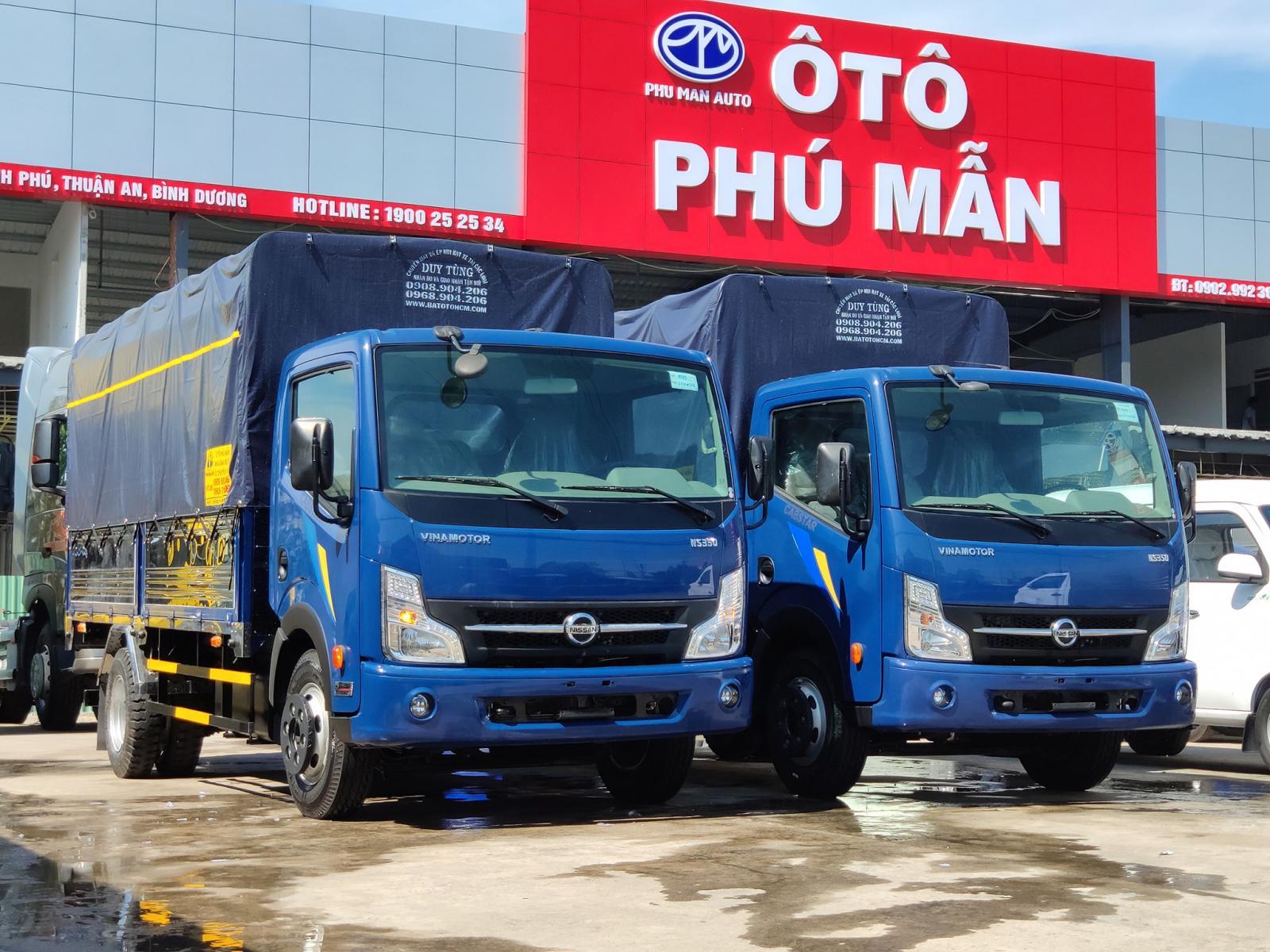 Xe tải 3 tấn 5 Nissan - tặng phí 50% trước bạ