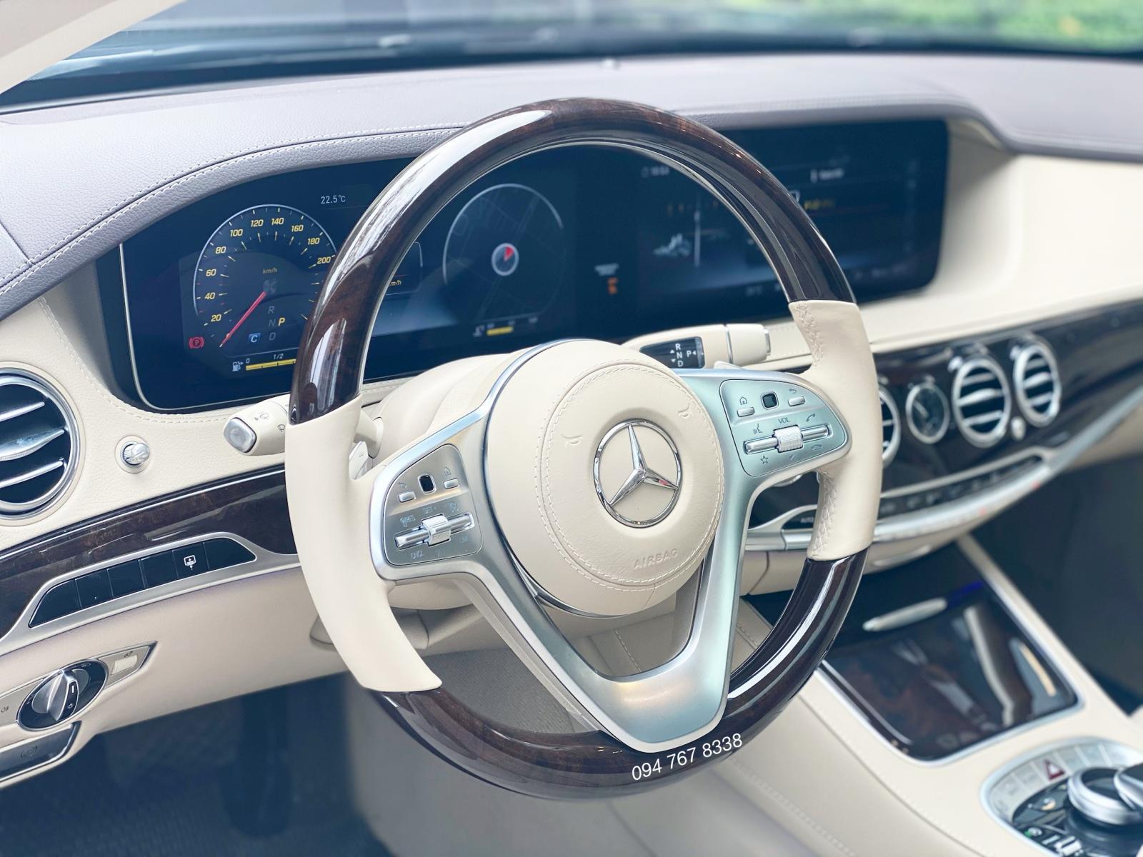 Bán xe Mercedes S450L 2021 bản Limited siêu lướt chính chủ biển cực đẹp, giá tốt