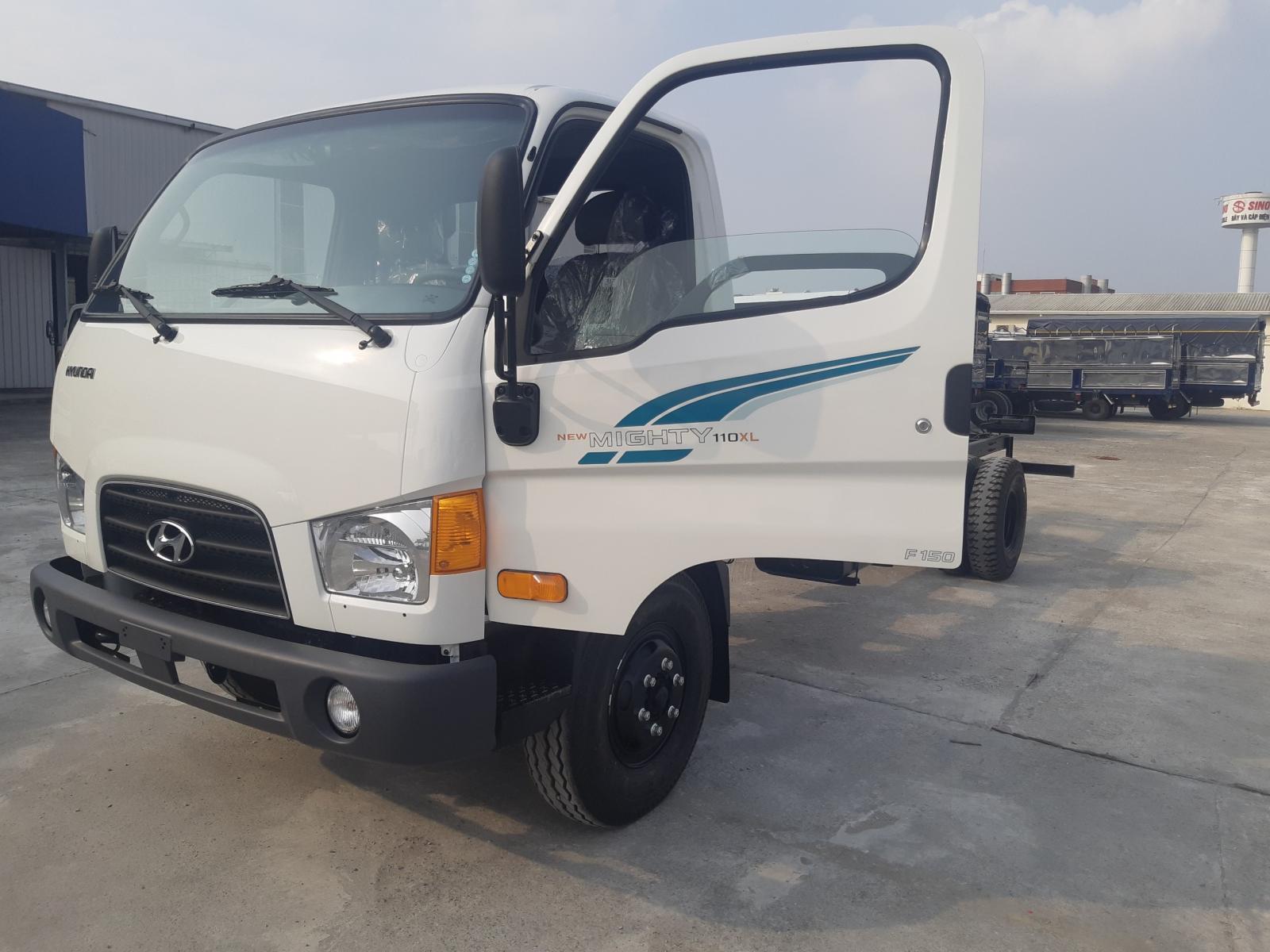 Xe tải 7 tấn Hyundai New Mighty 110XL nhập khẩu 3 cục Hàn Quốc 2021 thùng 6m3