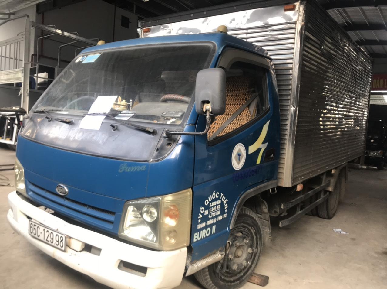 Cần bán VEAM thùng kín đời 2011