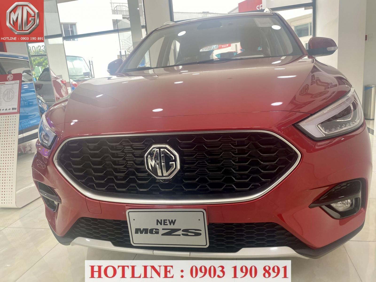 Cần bán MG ZS 2021, màu đỏ, giá chỉ 510 triệu