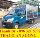 Bán Thaco Towner 990 tải trọng 990 kg, Euro IV, máy lạnh cabin, đời 2017, hỗ trợ trả góp 75% giá 216 triệu tại Tp.HCM