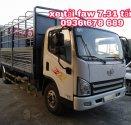 Xe tải faw 7,31 tấn giá rẻ nhất toàn quốc,thùng dài 6m25 giá 415 triệu tại Hà Nội