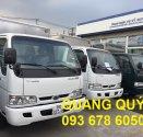 Xe tải K165 2 tấn 4 mới. Xe tải Kia K165 2,4 tấn vay trả góp. Bán xe tải Kia 2,4 tấn vào thành phố. giá 334 triệu tại Tp.HCM