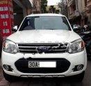 Bán Ford Everest 2.5L 4x2 AT năm 2014, màu trắng chính chủ, giá tốt giá 668 triệu tại Hà Nội