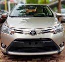 Cần bán xe Toyota Vios sản xuất 2016, màu vàng  giá 485 triệu tại Hà Nội