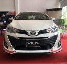Cần bán Toyota Vios 1.5G 2018, màu trắng, giao ngay giá 606 triệu tại Tp.HCM