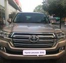 Bán Toyota Land Cruise 4.6, sản xuất và đăng ký cuối 2016, màu vàng, nội thất kem, xe siêu mới, biển Hà Nội giá 3 tỷ 750 tr tại Hà Nội