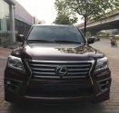 Bán Lexus LX570 màu đỏ mận, nội thất nâu, xe sản xuất và đăng ký 2014 một chủ đi từ đầu, LH 0906223838 giá 4 tỷ 850 tr tại Hà Nội