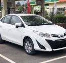 Cần bán Toyota Vios E 2018, màu trắng, tặng 2 năm bảo hiểm, trả góp 100tr giá 531 triệu tại Tp.HCM