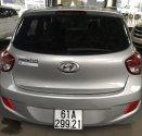 Bán Hyundai i10 1.0MT màu bạc số sàn, nhập Ấn Độ 2015, bản 5 cửa, gia đình, xe chạy 38000km giá 318 triệu tại Tp.HCM