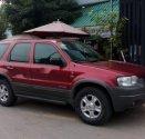 Cần bán gấp Ford Escape sản xuất 2002, màu đỏ số tự động giá cạnh tranh giá 142 triệu tại Tp.HCM