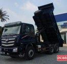 Bán trả góp xe ben 3 chân Thaco Auman D240 ETX Euro 4 thùng 10 khối - Vay 80 % Long An Tiền Giang Bến Tre giá 1 tỷ 330 tr tại Long An