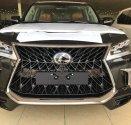 Bán Lexus LX570 Super Sport S 2019 màu đen, nội thất nâu da Bò, xe xuất Trung Đông mới 100% giá 9 tỷ 180 tr tại Hà Nội