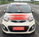 Cần bán xe Kia Morning 1.0AT năm sản xuất 2011, màu kem (be), xe nhập giá 328 triệu tại Hà Nội